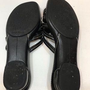 Cole Haan Shoes - Cole Haan Nike Air black strappy leather sandals